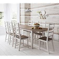 Florence Square Extended Table Cm White Extending Kitchen - Extending kitchen tables and chairs