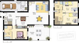 plan maison rdc 3 chambres maison méditerranéenne 3 dé du plan de maison méditerranéenne