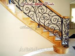 Iron Banister 16 Best Wrought Iron Banister Images On Pinterest Stairs
