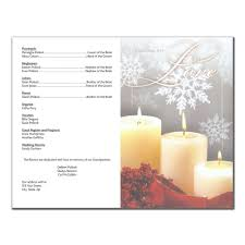 where to get wedding programs printed wedding program 6236 with printing pack of 50 wedding programs