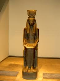 hathor is one of the most famous goddesses of ancient egypt she