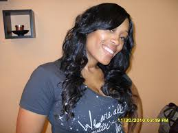 sew in hair extension with silk lace closure in chicago