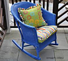 Wicker Patio Furniture San Diego - furniture serendipity refined blog wicker and wrought iron patio