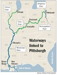 tombigbee waterway map pittsburgh nautical destination and home port for adventurous