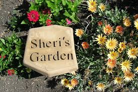 personalized garden stones personalized garden stepping stones 11 steps with pictures