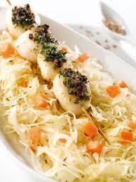 cuisiner choucroute choucroute au pistou et tartare de poisson cuisine plurielles fr