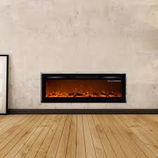 touchstone 80015 sideline 72 recessed electric fireplace 72