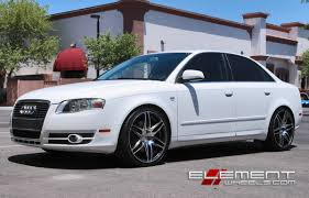 white mitsubishi lancer with black rims audi a4 wheels and s4 wheels and tires 18 19 20 22 24 inch