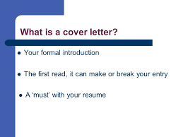 cover letters selling your skills on paper ppt video online