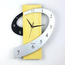 cool wall clock blue wall clock minimalist classic dial with
