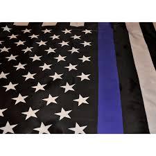 3 X 5 Flags Thin Blue Line Flag 3 U0027 X 5 U0027 W Brass Grommets U2013 Thin Blue Line