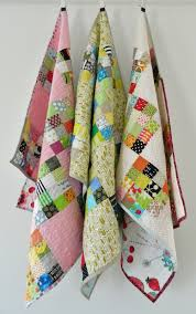 s o t a k handmade sixteen patch baby quilts plus a tutorial