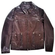 porsche design dress shoes brown plain leather porsche design jacket vestiaire collective