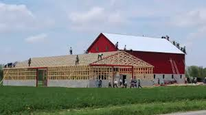barn like homes ohio amish barn raising may 13th 2014 in 3 minutes and 30