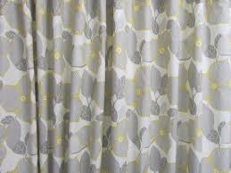 Amy Butler Home Decor Fabric by Amy Butler Fabric Shower Curtain Grey Yellow Fabric Shower