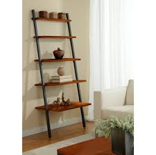 book case ideas furniture 5 shelf leaning ladder bookcase ideas nice and unique