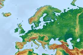 europe phisical map free illustration europe map physical map free image on
