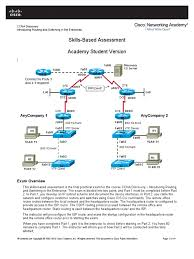 d3 sba student ip address router computing