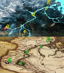 Elder Scrolls Map Image Dawnguardmap Jpg Elder Scrolls Fandom Powered By Wikia