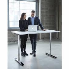 kinnarps oberon sit stand desk