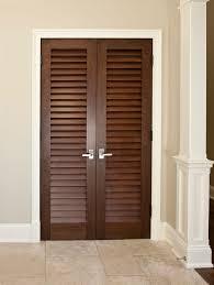 Slatted Closet Doors Prehung Louvered Doors Door Ideas