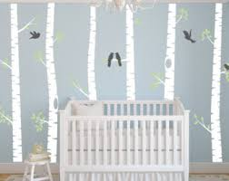 Tree Wall Decor For Nursery Woodland Wall Decal Etsy