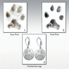 personalized paw print necklace paw print memorial jewelry dog paw print pendant pet urns for