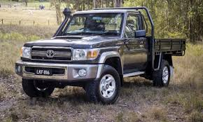 2017 toyota landcruiser 70 series pricing and features loaded 4x4
