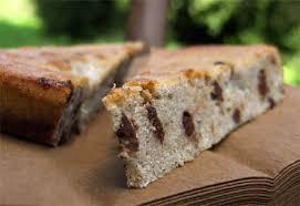cuisiner le sarrasin gâteau au lait ribot farine de sarrasin bananes et pépites de