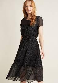 short sleeved pleated shirt dress modcloth