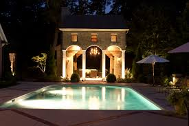 Pool Landscape Lighting Ideas by Outdoor Halloween Decorations Yard And Porch Ideas These Haunted