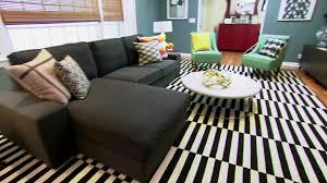 modern vintage living room video hgtv