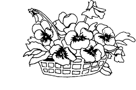 spring flower coloring pages getcoloringpages