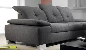 ubaldi canapé canap tissu ub design 3 places gris pas cher ubaldi se