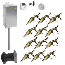 12 Volt Landscape Lighting Parts by Landscape Lighting Kits Outdoor Lighting Volt Lighting