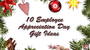 10 employee appreciation day gift ideas youtube