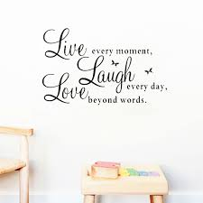 love live laugh live laugh love quotes wall decals home decoration removable diy