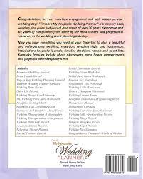 wedding reception planner fimark s my keepsake wedding planner angelo askew brenda