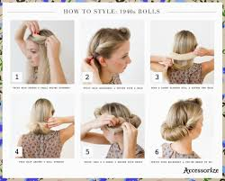 easy updos step by step diy guides 1940s hairstyles party