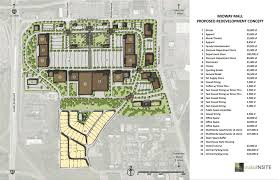 Strip Mall Floor Plans Consultants Present Their Vision For Midway Mall To Council