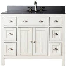 42 inch bathroom cabinet hamilton french white 42 inch vanity combo