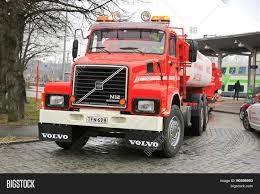 big volvo truck classic volvo n12 tank truck year image u0026 photo bigstock