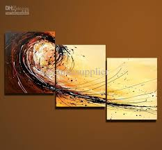whole art modern abstract oil painting multiple piece canvas art sets 3 pieces cool artwork 50x60cm