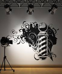 wall decals of people silhouette wall decals stickerbrand vinyl wall decal sticker barbershop design os aa594