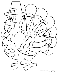 coloring pages thanksgiving turkeys u2013 festival collections