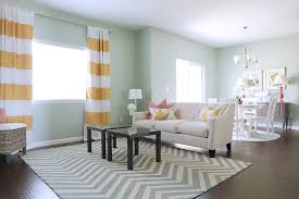 yellow and gray striped area rug creative rugs decoration