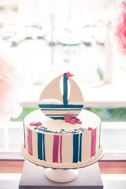 pink and blue nautical baby shower inspired by this