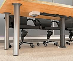 under table cable tray under table cable management system