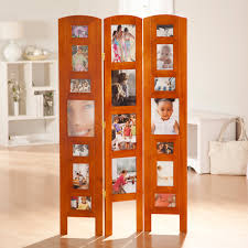 memories photo frame room divider honey 3 panel walmart com