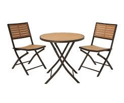 Bistro Patio Tables Lifetime 3 Piece Bistro Patio Set